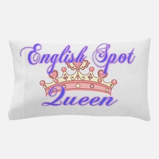 English Spot Queen Pillow Case