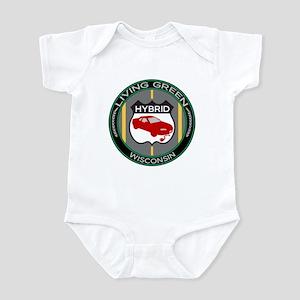 Living Green Hybrid Wisconsin Infant Bodysuit