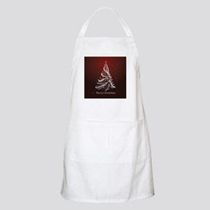 Christmas Tree And Wishes Apron