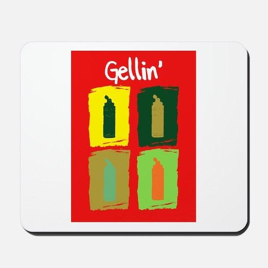 Gellin' Orange Back Mousepad