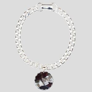 KITTY TWINS Charm Bracelet, One Charm