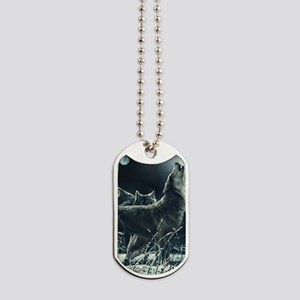 Winter Wolves Dog Tags