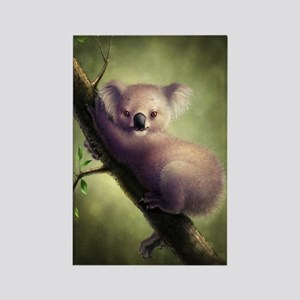 Cute Koala Bear Rectangle Magnet