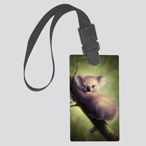 Cute Koala Bear Large Luggage Tag