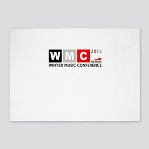 WMC 2015 Winter Music Conference 5'x7'Area Rug