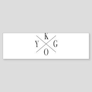 KYGO Bumper Sticker