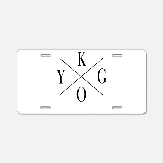 KYGO Aluminum License Plate