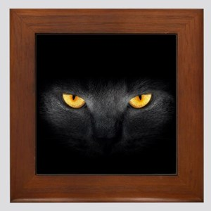 Cat Eyes Framed Tile