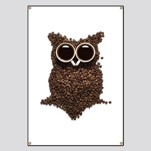 Coffee Owl Banner