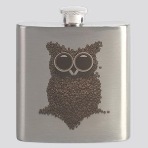 Coffee Owl Flask