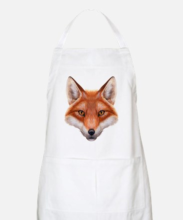 Red Fox Face Apron