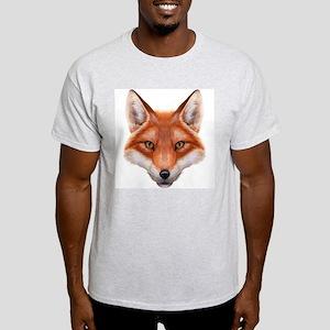 Red Fox Face Light T-Shirt