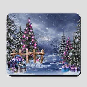 Christmas Landscape Mousepad
