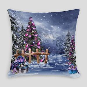 Christmas Landscape Everyday Pillow