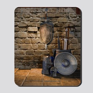 Medieval Weaponry Mousepad
