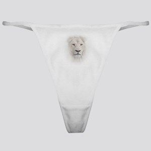 White Lion Head Classic Thong