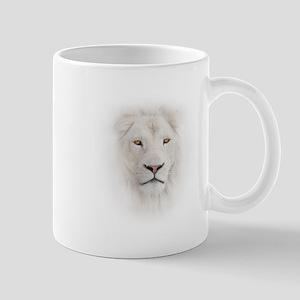 White Lion Head Mug