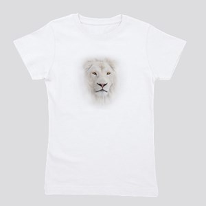 White Lion Head Girl's Tee