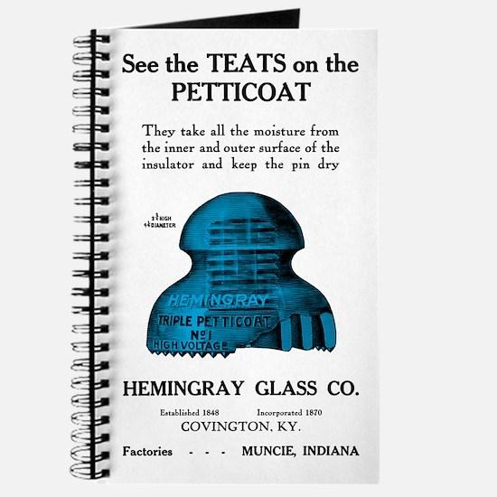 Teats On The Petticoat Journal