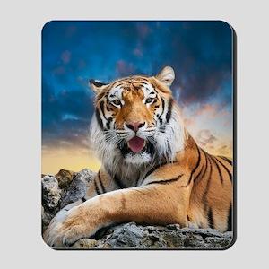 Tiger Sunset Mousepad
