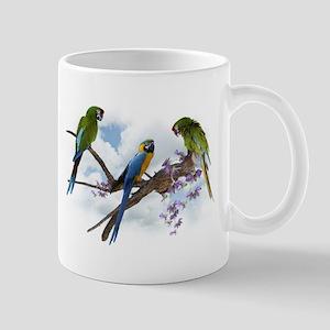 Macaw Parrots Mug