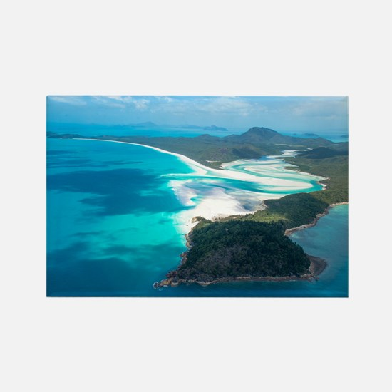 WHITEHAVEN BEACH 2 Rectangle Magnet
