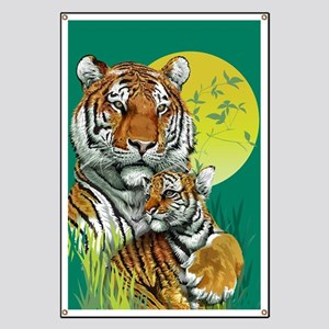 Tiger and Cub Banner