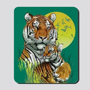 Tiger and Cub Mousepad
