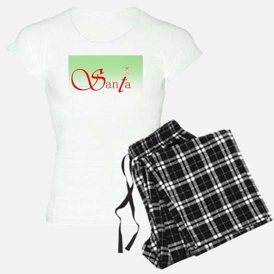 Santa Wisdom Women's Light Pajamas