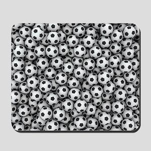 Soccer Balls Mousepad
