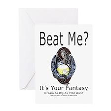 Dragon Pool Player Greeting Card