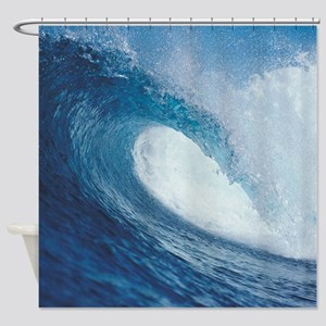 OCEAN WAVE 2 Shower Curtain