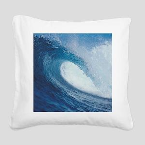 OCEAN WAVE 2 Square Canvas Pillow