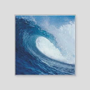 "OCEAN WAVE 2 Square Sticker 3"" x 3"""