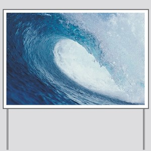 OCEAN WAVE 2 Yard Sign