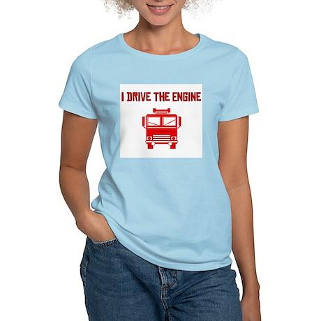 I Drive The Engine Women's Light T-Shirt