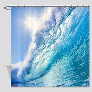 OCEAN WAVE 1 Shower Curtain