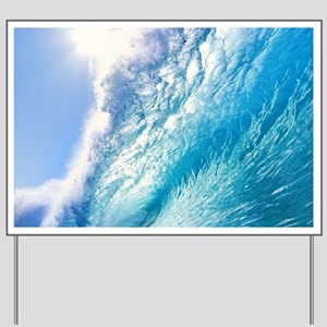 OCEAN WAVE 1 Yard Sign