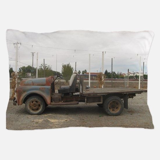 very old truck Pillow Case