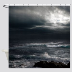 OCEAN STORM Shower Curtain