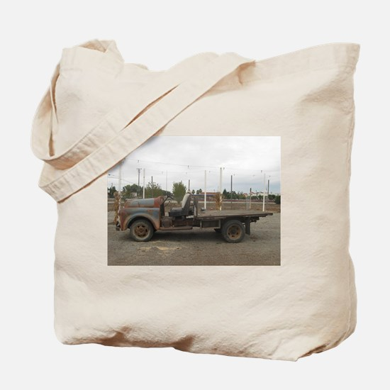 very old truck Tote Bag