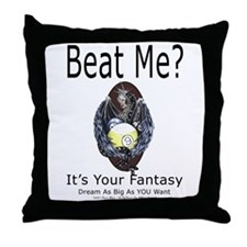 Dragon Pool Player Throw Pillow