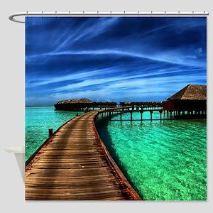 MALDIVES 2 Shower Curtain