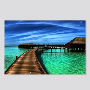 MALDIVES 2 Postcards (Package of 8)