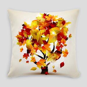 Autumn Tree Everyday Pillow