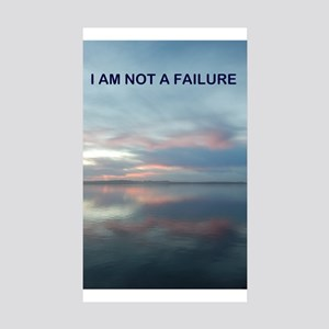 I Am Not A Failure Sticker