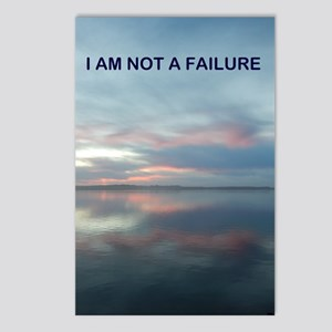 I Am Not A Failure Postcards (Package of 8)