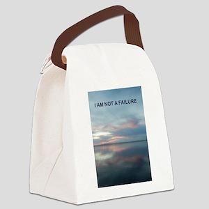 I Am Not A Failure Canvas Lunch Bag