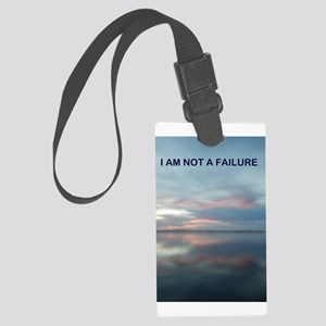 I Am Not A Failure Luggage Tag