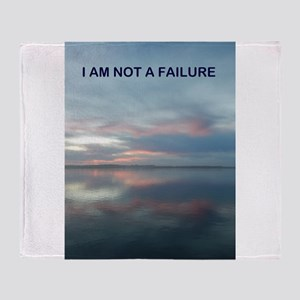 I Am Not A Failure Throw Blanket
